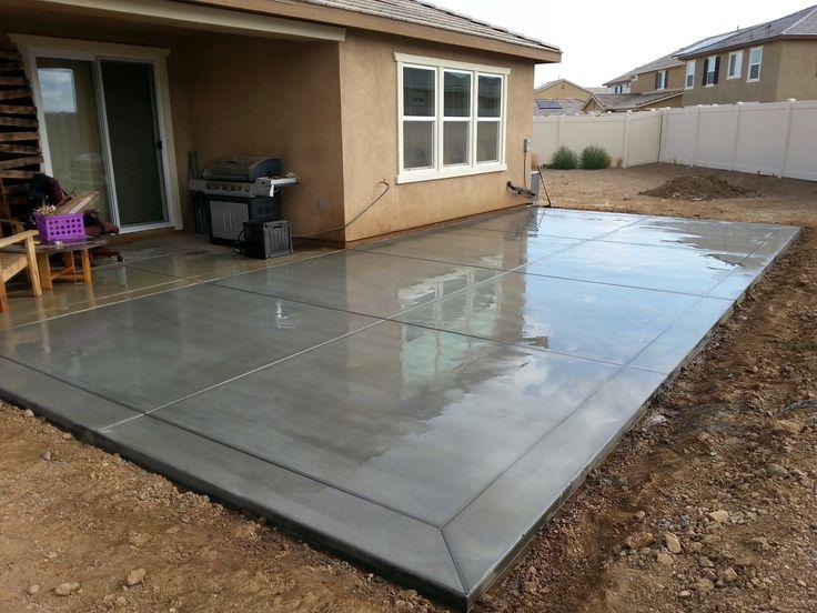 Concrete Patio San Antonio Satx Concrete Contractors