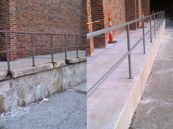 concrete repair and replacement