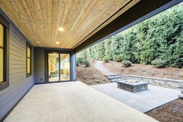 new modern patio