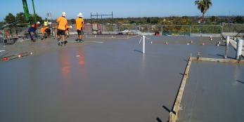 Commercial concrete construction company