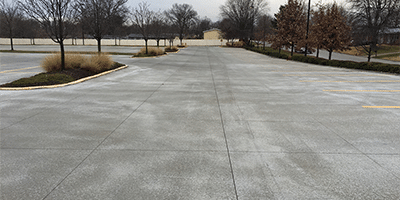 parking lot concrete contractor